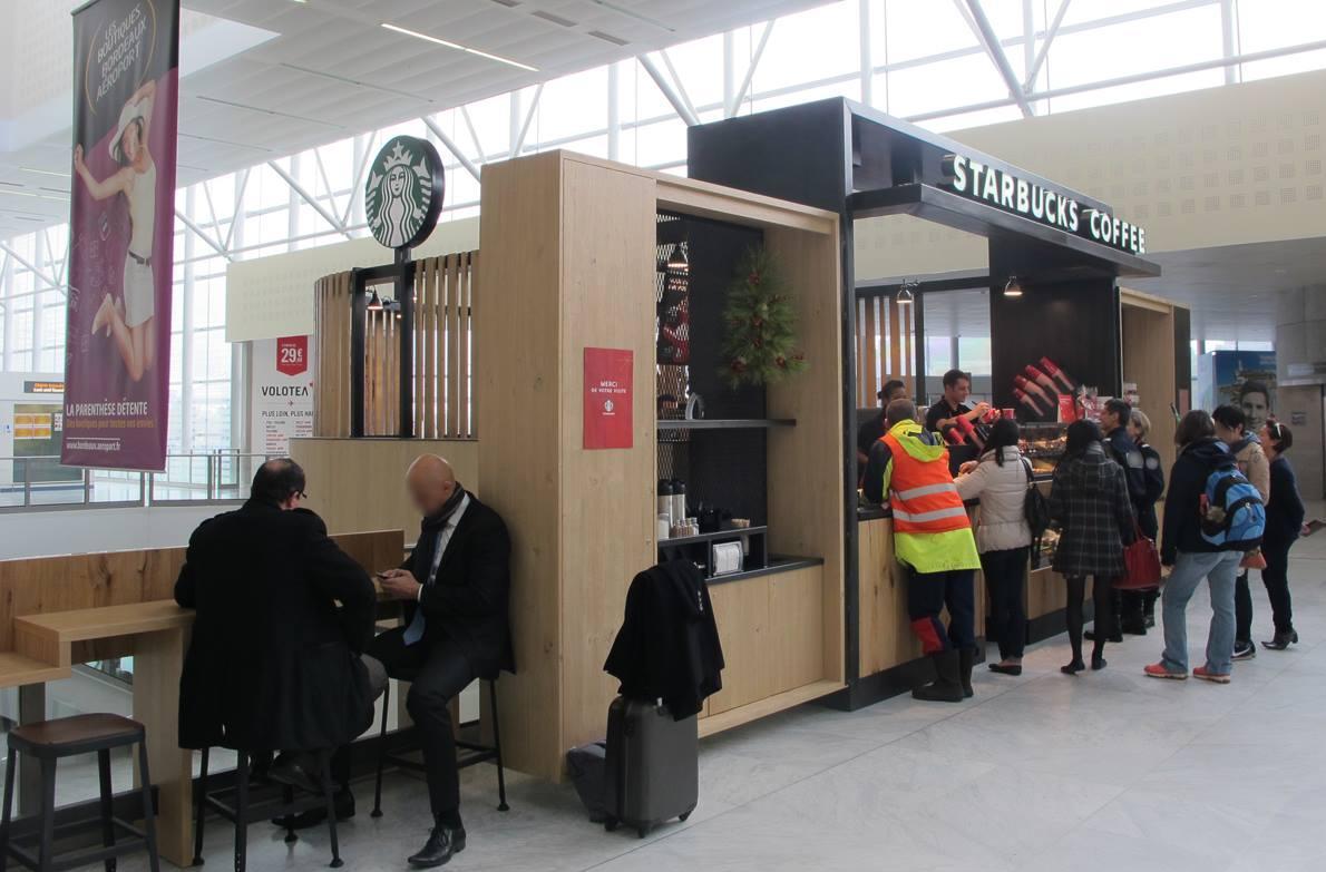 Starbucks ouvre l 39 a roport de bordeaux le petit bordeaux - Lapeyre bordeaux merignac ...