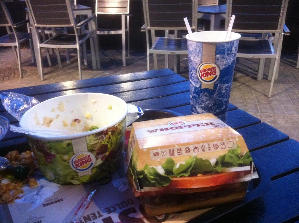 Avis sur le Burger King bordelais