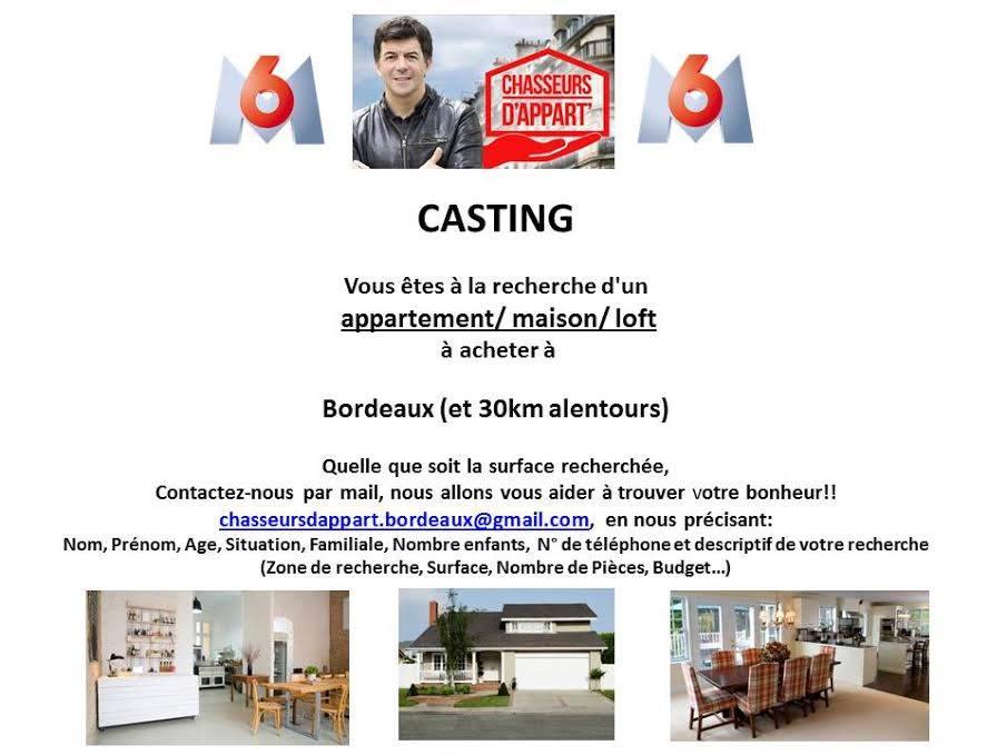 Chasseurs d 39 appart 39 casting m6 bordeaux le petit - Vend appartement ou maison m6 ...