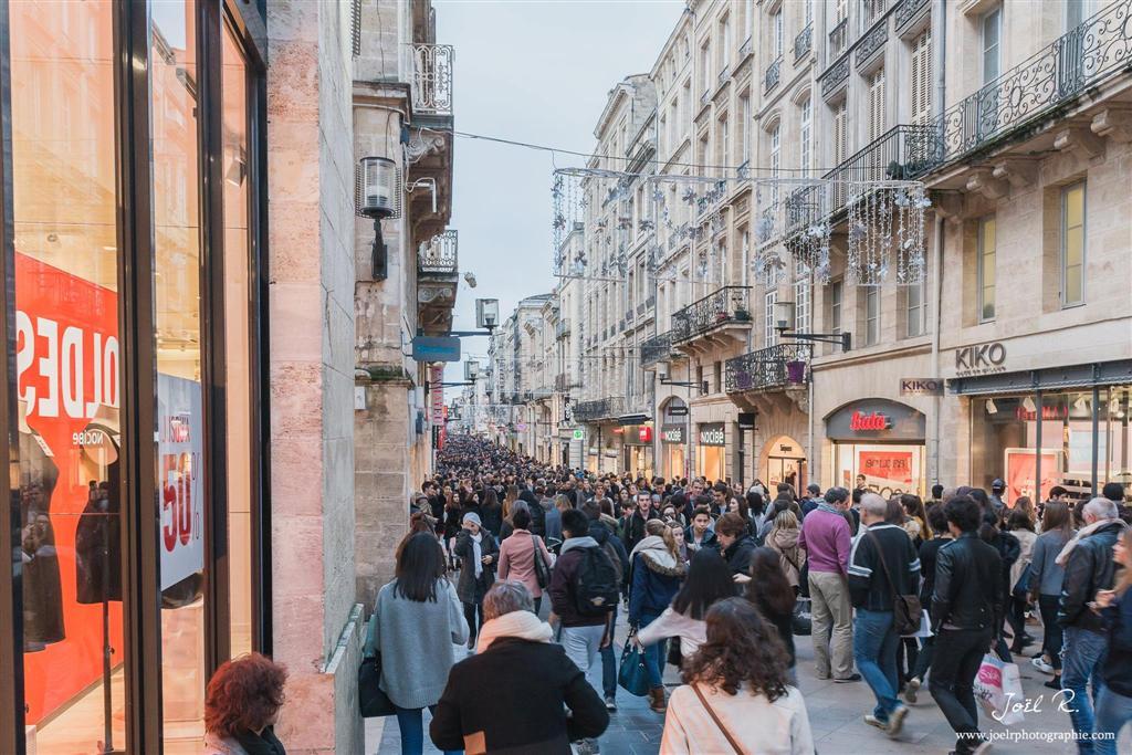 Magasins ouverts le dimanche Rue Sainte-Catherine