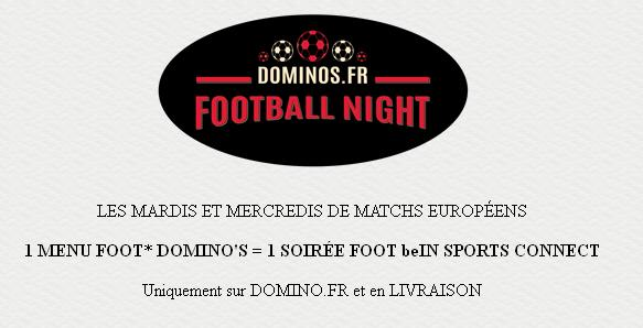 Domino's Football Night