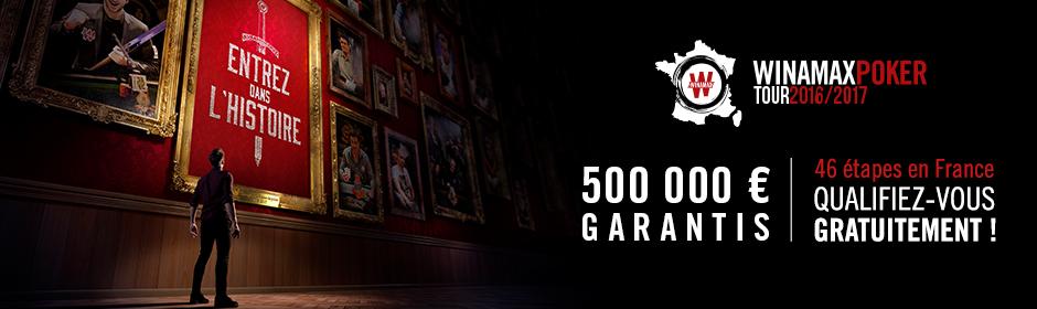 Tournoi de poker Bordeaux – Winamax Poker Tour