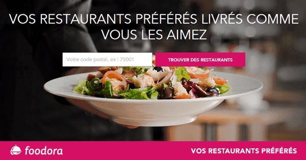 code promo foodora Bordeaux