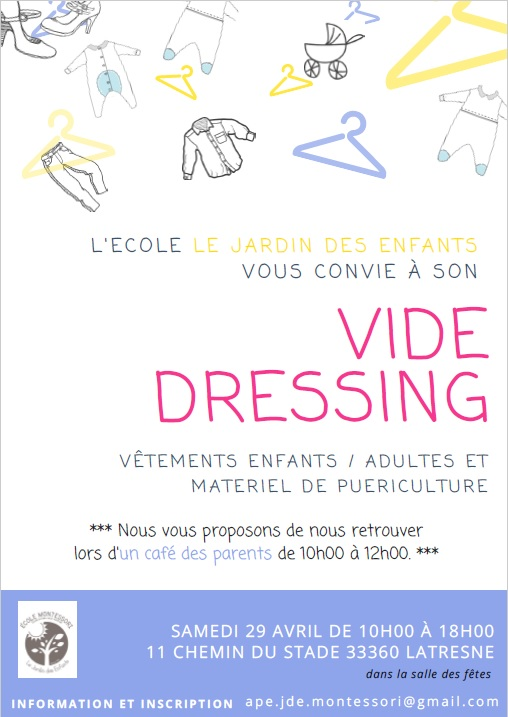latresne vide dressing enfants adultes et mat riel de pu riculture le petit bordeaux. Black Bedroom Furniture Sets. Home Design Ideas