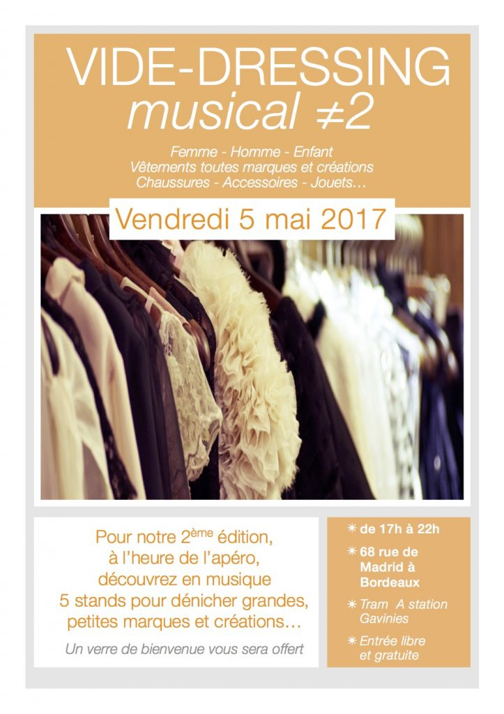vide dressing musical le 5 mai bordeaux le petit bordeaux. Black Bedroom Furniture Sets. Home Design Ideas