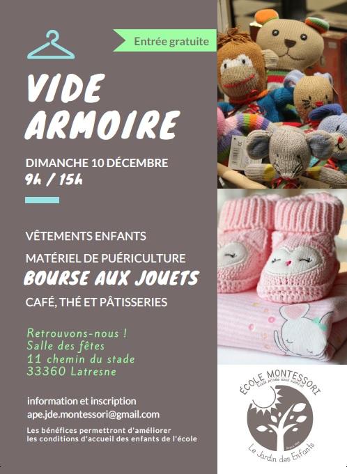 Affiche Vide Armoire 2017